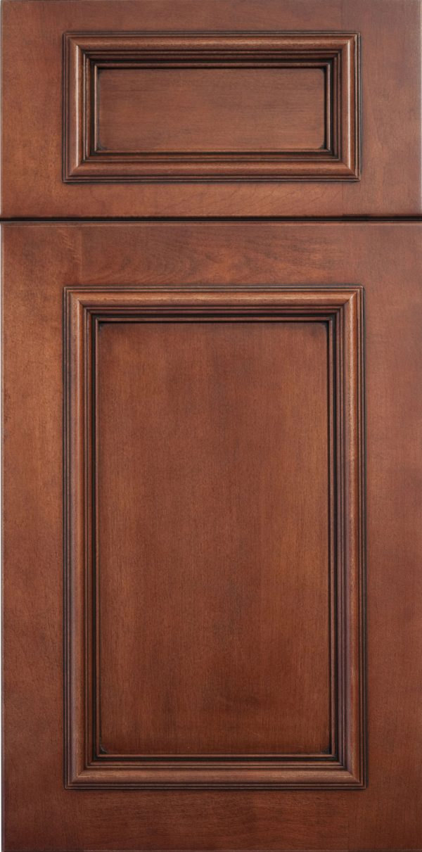 Wood: Andover 5pc Maple Briarwood Brown Flat