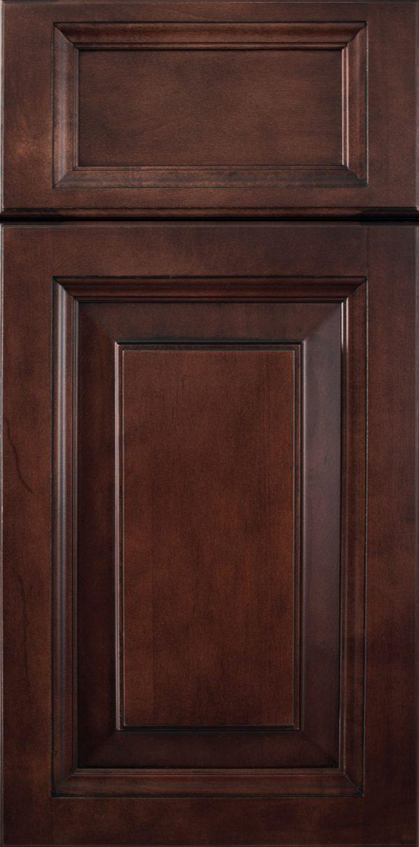 Wood: Asheville Maple Bordeaux Brown Glaze