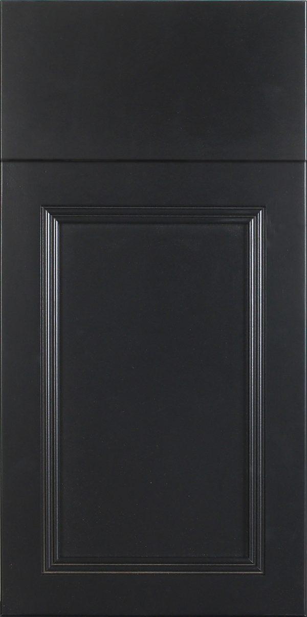 Wood: Dennison Maple Black Flat