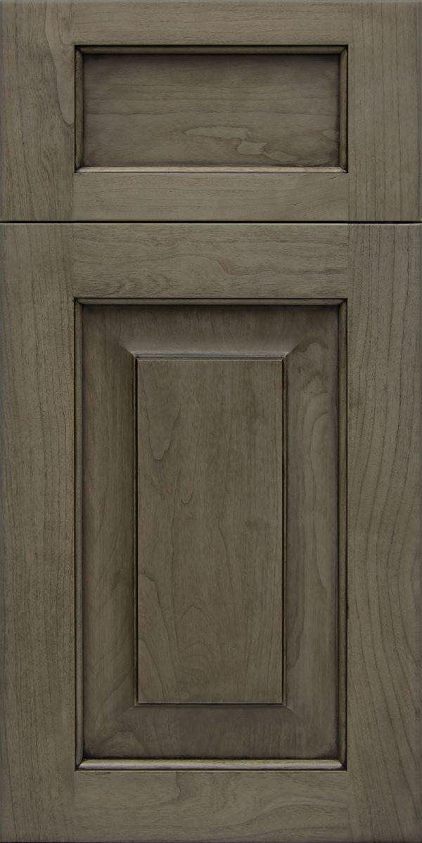 Wood: Evanston 5 Piece Cherry Coastal Grey Brown Glaze