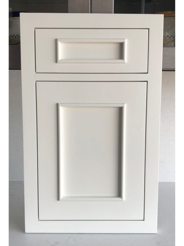 Inset Transitional Applied Molding White