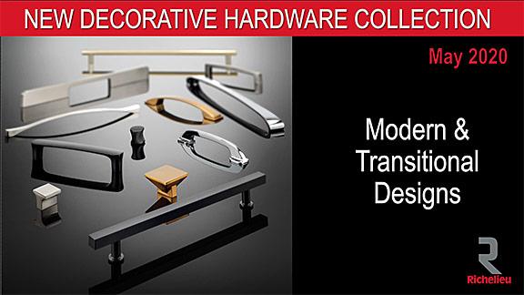 Richelieu 2020 Decorative Hardware Collection