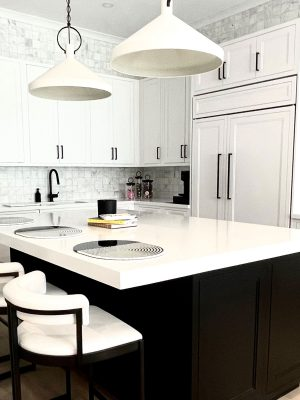 Manhattan Living with Inset Cabinets 4