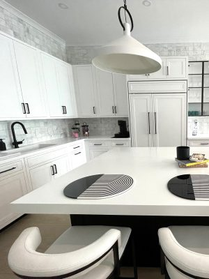 Manhattan Living with Inset Cabinets 5