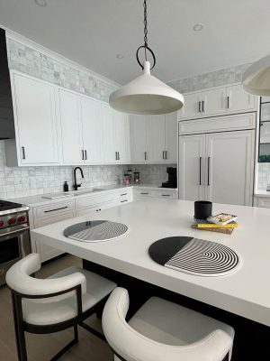Manhattan Living with Inset Cabinets 6